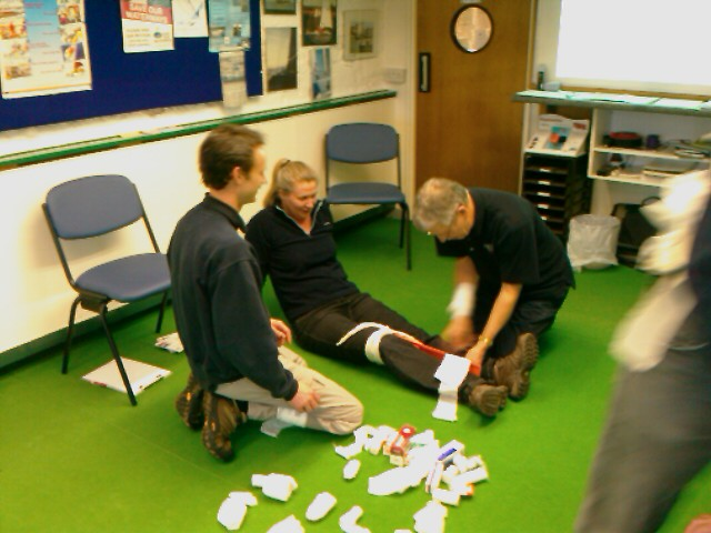 HSE First Aid at Work (3 day): Call to arrange dates